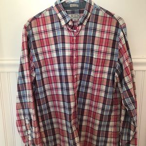 Men's J Crew Plaid Button Down